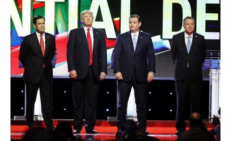 LO ULTIMO: Trump: tipos malos incitan a violencia en mítin