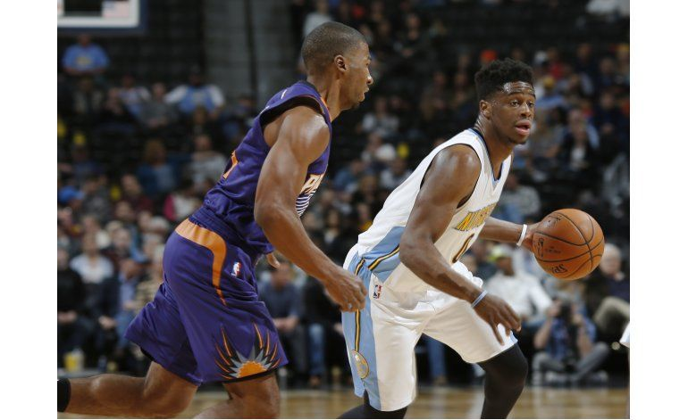 Mudiay anota 30 y Nuggets doblegan a Suns