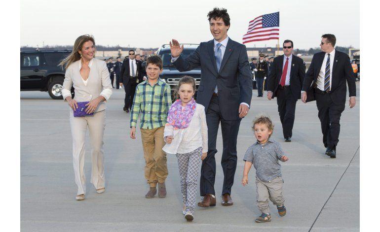 Trudeau busca fortalecer lazos con EEUU en visita oficial