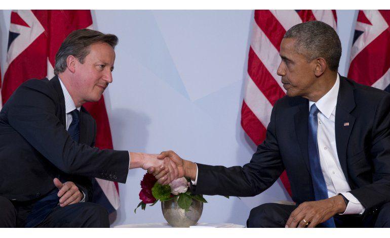 Prensa británica, molesta por crítica de Obama sobre Cameron