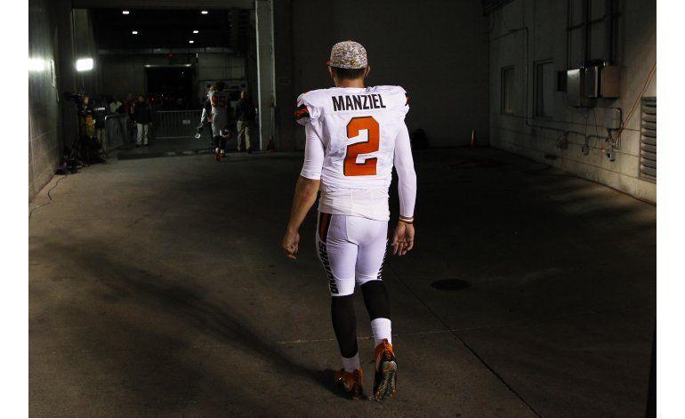 NFL: Browns dan de baja a Manziel tras 2 temporadas