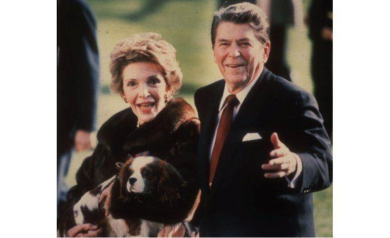 Nancy y Ronald Reagan, inseparables en vida, juntos de nuevo