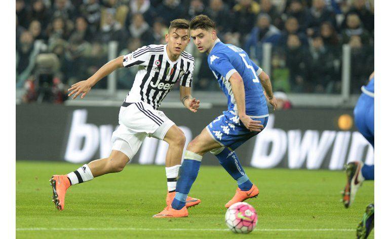 Juventus gana 1-0 y Buffon se coloca a 3 minutos de récord