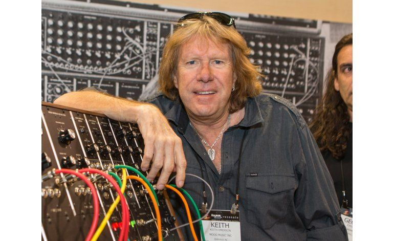 Muere Keith Emerson de Emerson, Lake and Palmer