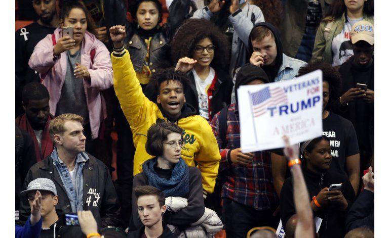 Trump cancela un mitin por razones de seguridad