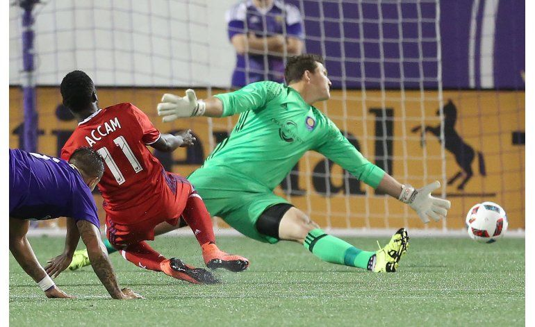 MLS: Fire y Orlando City empatan 1-1