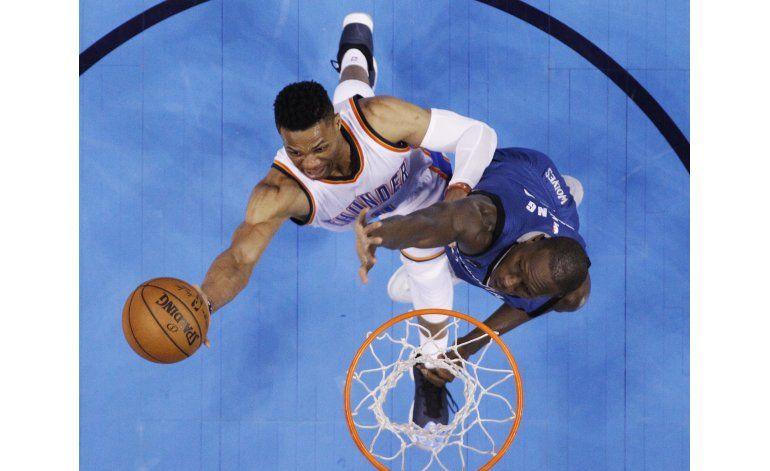 Triple de Rubio da a Timberwolves triunfo sobre Thunder