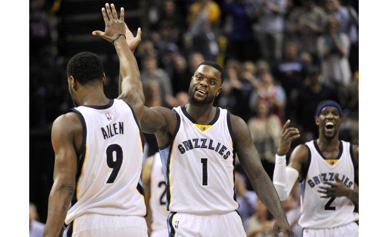 Stephenson guía a Grizzlies a victoria ante Pelicans