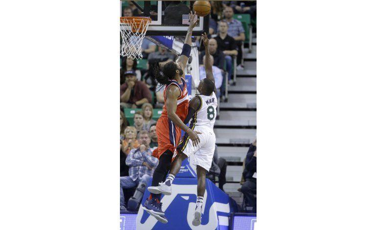 Mack logra récord personal de puntos y Jazz gana a Wizards