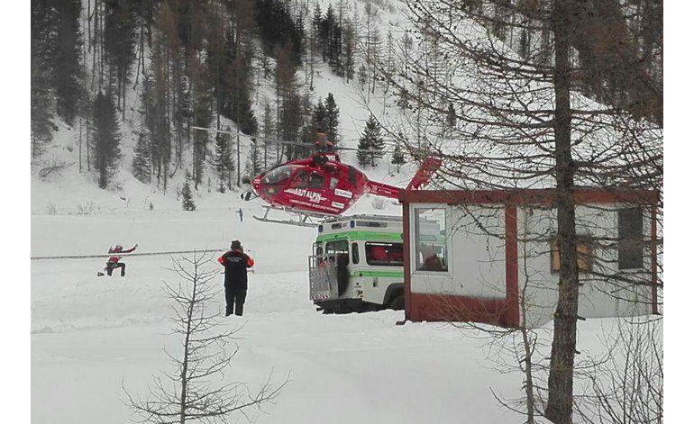 Mueren seis esquiadores por avalancha en los Alpes italianos