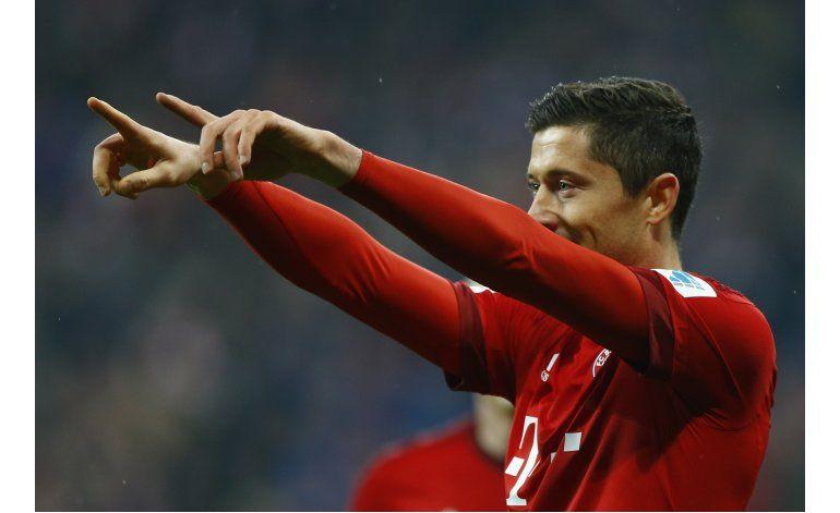 Bayern se prepara para la Juve con goleada a Bremen