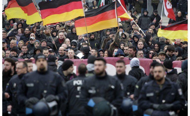 Crisis de migrantes en Europa origina protestas