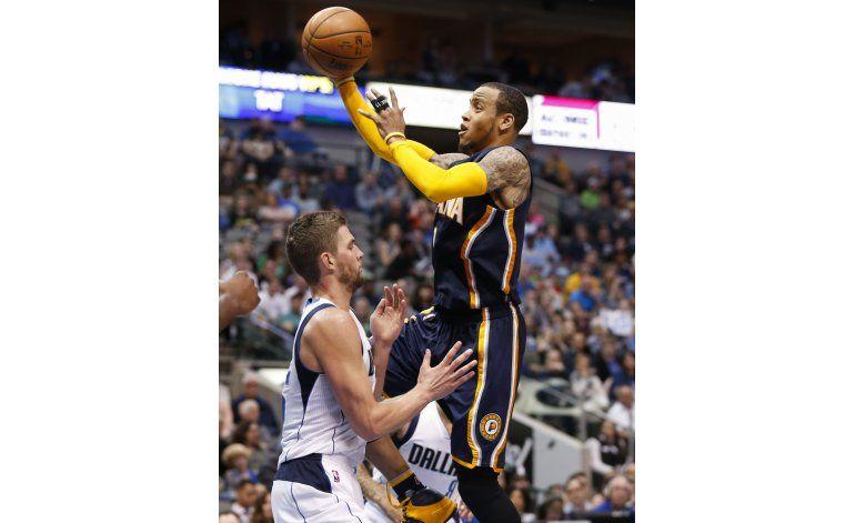 Ellis y Pacers extienden racha perdedora de Mavericks