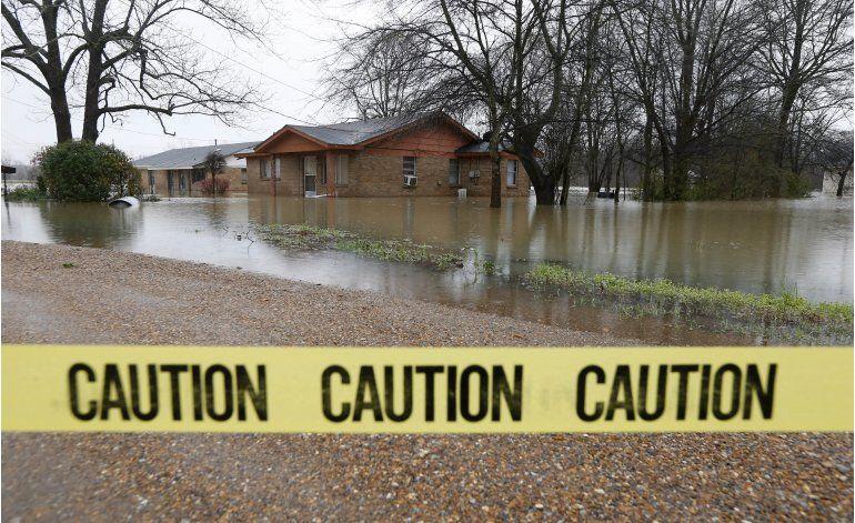 Inundaciones extraordinarias en Louisiana y Mississippi