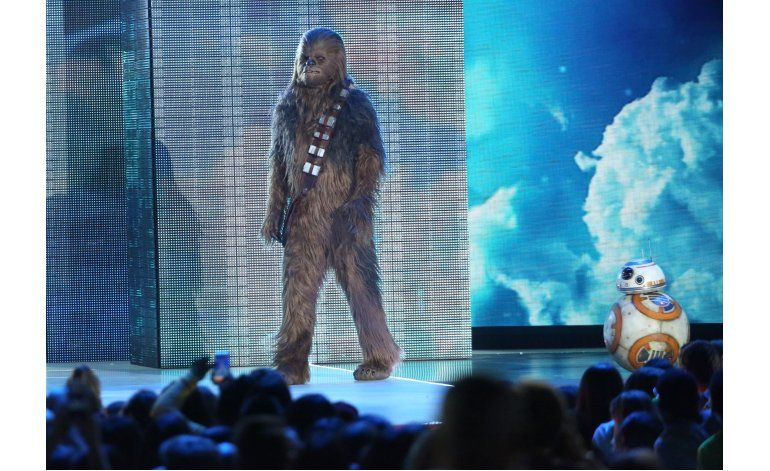 Star Wars ganadora de Premio Kids Choice