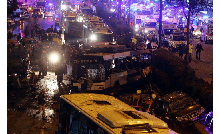 Suman 34 muertos y 125 heridos en atentado en Ankara
