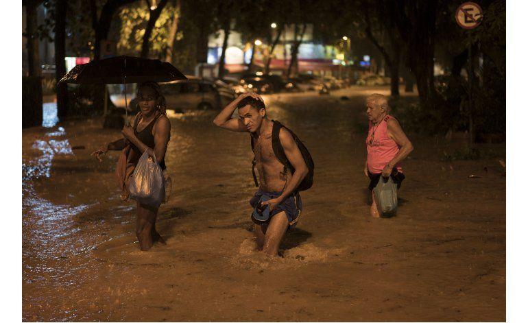 Reportes: Inundaciones en Río de Janeiro dejan 4 muertos