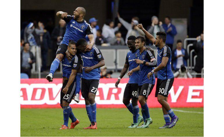 MLS: Earthquakes sorprenden a los campeones Timbers