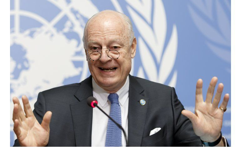 Único plan B es volver a guerra, dice enviado ONU a Siria