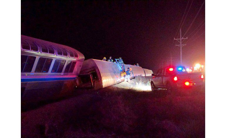 29 heridos por descarrilamiento de tren en Kansas