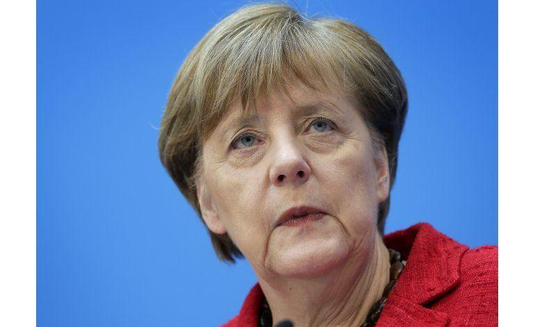 Merkel: se necesita solución europea a la crisis migratoria