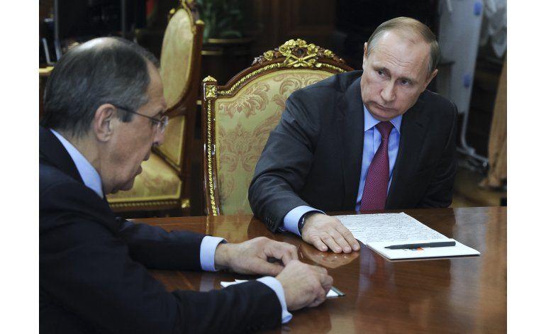 Putin ordena la salida de las tropas rusas de Siria