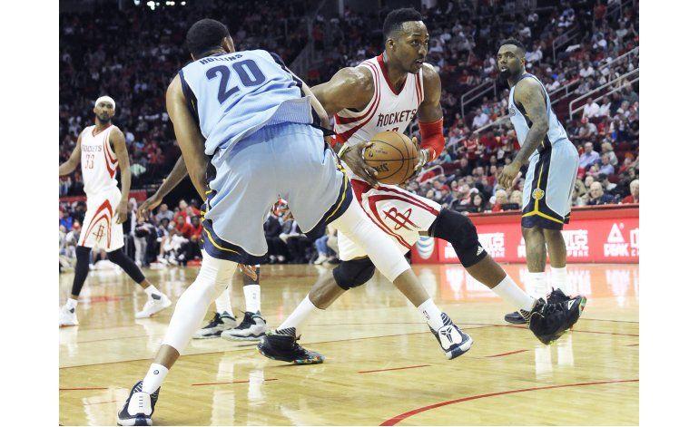 Rockets logran su mayor paliza de la campaña, sobre Memphis