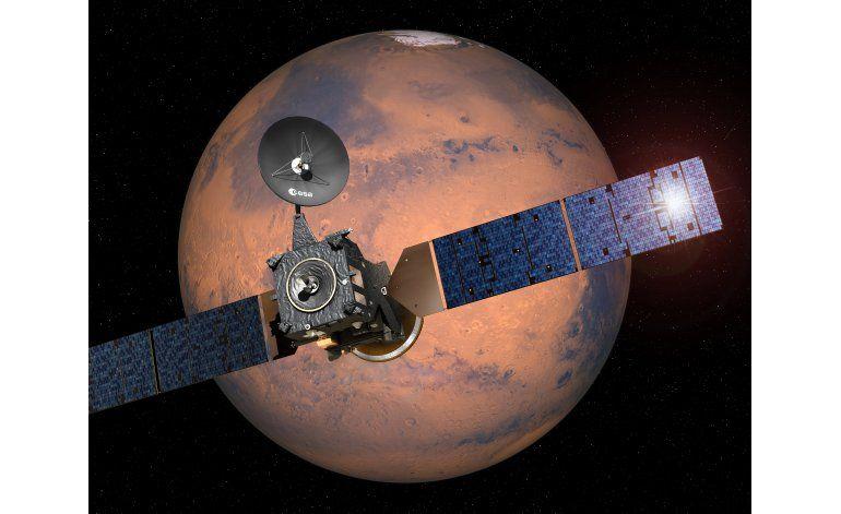 Lanzan sonda a Marte para buscar señales de vida