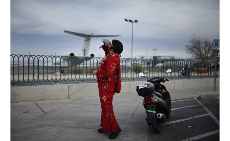 El amor por Elvis Presley se resiente en Las Vegas