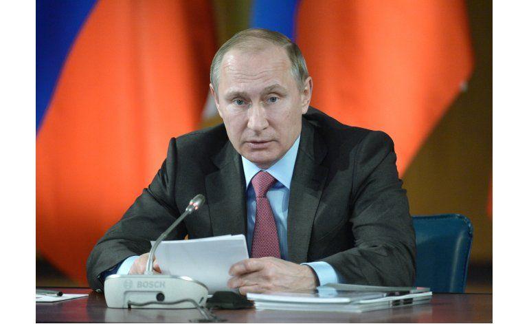 Putin: Pueblo apoyará represión policial si se justifica