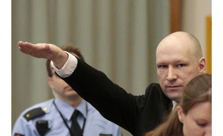 Breivik buscó hacer contacto con pandilla Aryan Brotherhood
