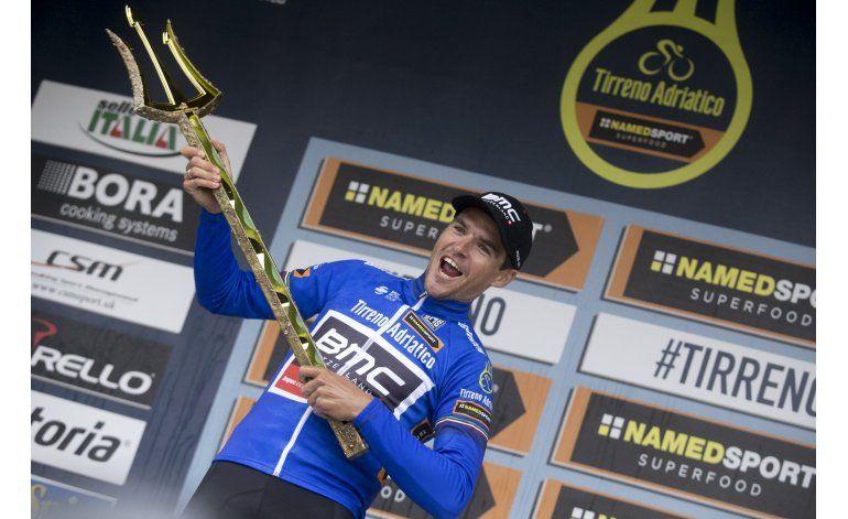 Van Avermaet conquista la Tirreno-Adriático por 1 segundo
