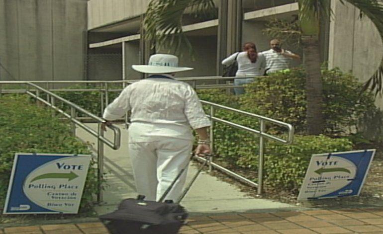Comienza la votación anticipada en Miami Dade