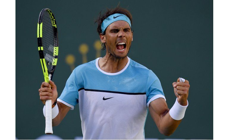 Nadal se cobra revancha de Verdasco en Indian Wells