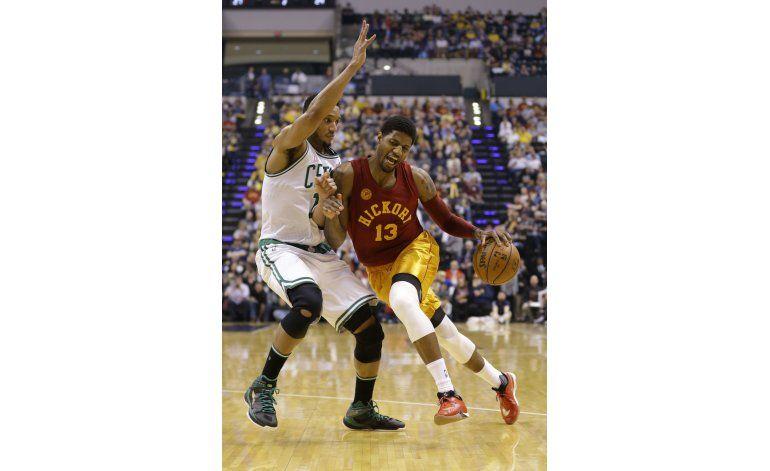 Pacers abruman a Boston en el último tramo para ganar 103-98