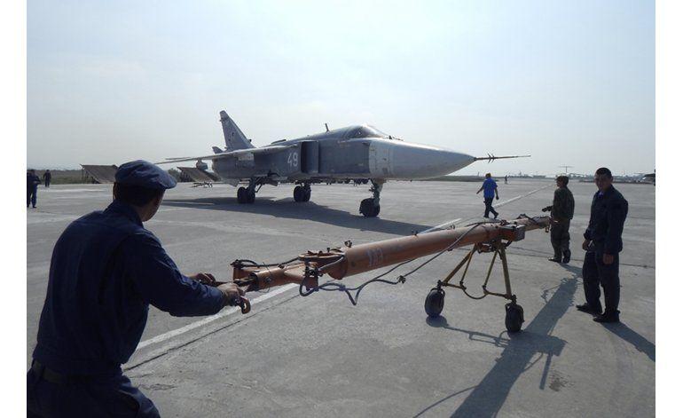 Otro grupo de aviones rusos deja Siria para regresar a casa