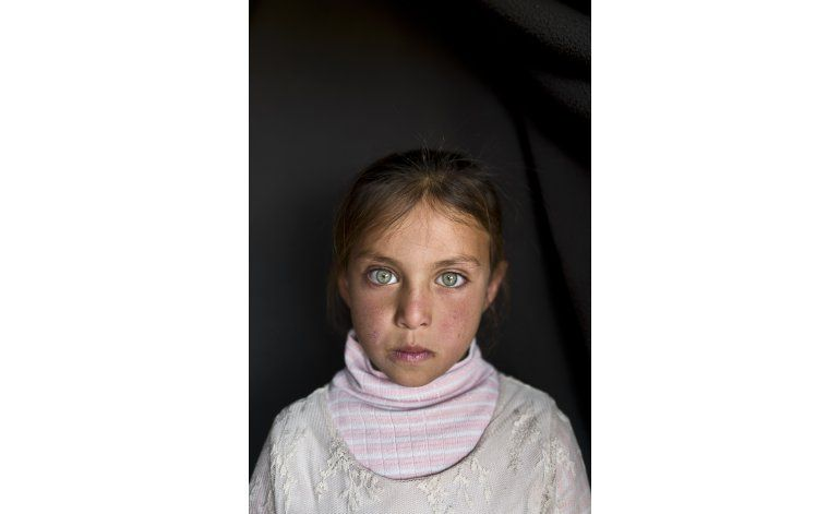FOTOS AP: Niños refugiados sirios temen por su futuro
