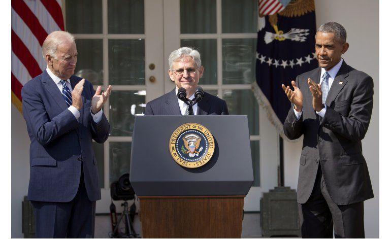 Obama desafía a republicanos, nomina juez a Corte Suprema