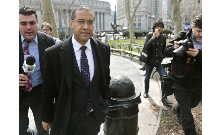 Diplomático dominicano se declara culpable de soborno