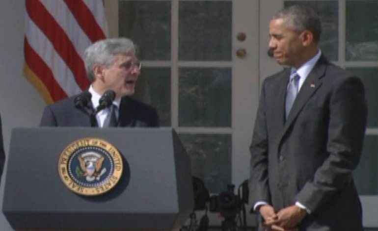 Presidente Obama elige al juez Merrick Garland  como candidato al Tribunal Supremo