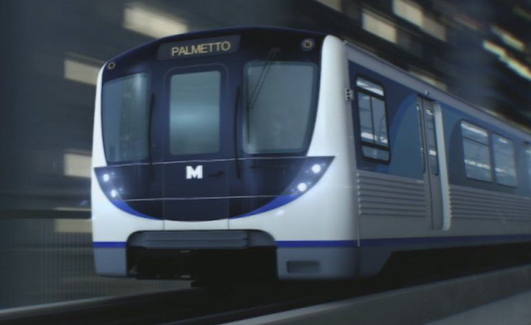 Autoridades de Miami Dade develaron  los nuevos vagones que prestaran servicio en el Metrorail
