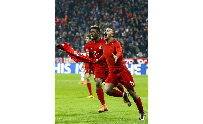 Campeones: Bayern remonta y vence a la Juve en prórroga