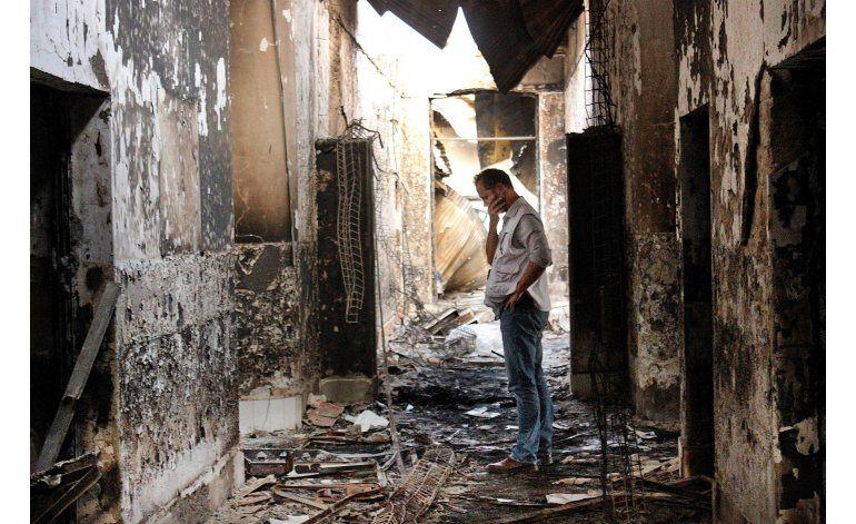 EEUU sanciona a militares por ataque a hospital afgano