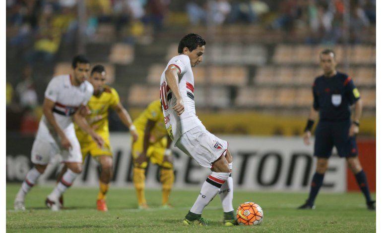 Libertadores: Sao Paulo y Trujillanos empatan 1-1