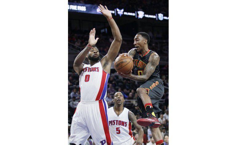 Hawks superan 118-114 a Pistons