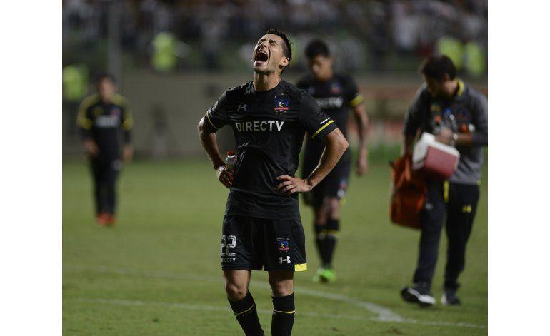 Libertadores: A. Mineiro arrolla 3-0 a Colo Colo