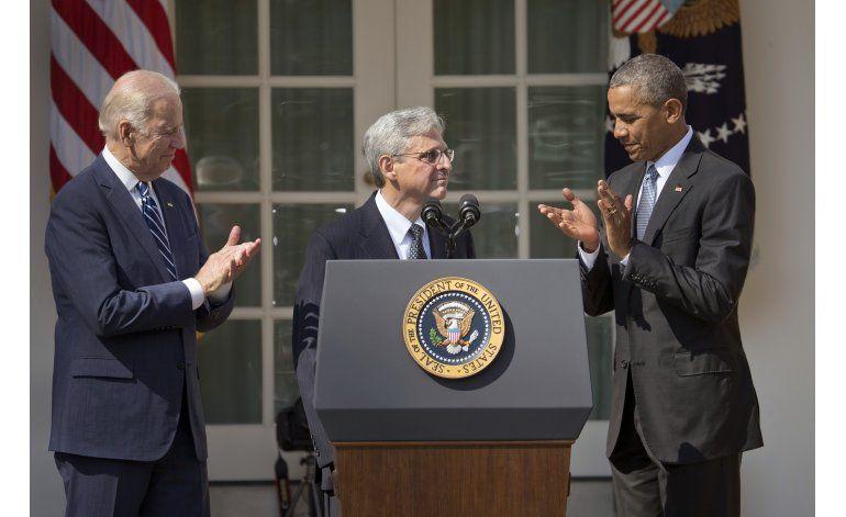 ANALISIS: Obama reta a republicanos con candidato a Supremo