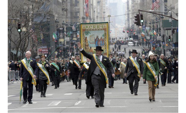 Dublín se prepara para el desfile de San Patricio
