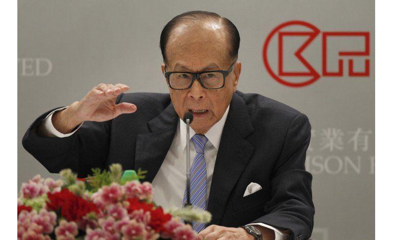 Magnate hongkonés advierte sobre inversiones a Gran Bretaña