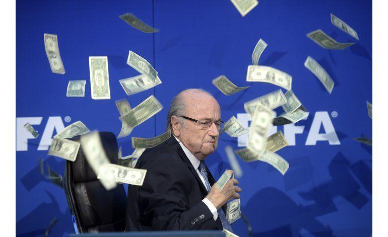Blatter apela su suspensión del fútbol ante el TAS